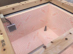 床下換気システム+基礎断熱を施工