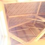 屋根の断熱材は通常の高性能フェノールフォーム断熱材を使用。