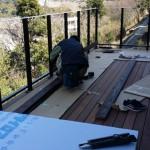 そしてフェンス造り。 これはいつもの作業なので、スムーズに作業が出来たようです。