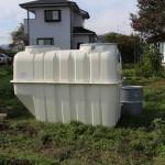 浄化槽のタンクです。