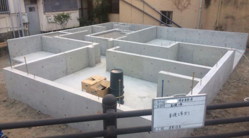 池之上の家『新築工事』