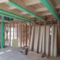 床・壁・天井に使用するもみの板。