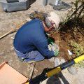 この後、キッチン、収納関係を収め、造園工事で完成となります。